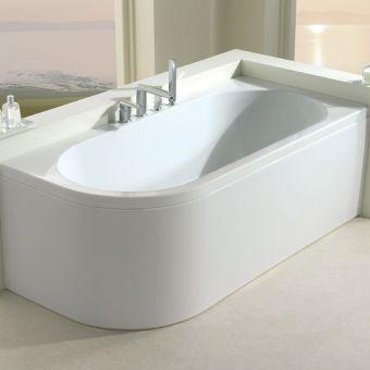 Carron Status Offset Corner Shower Bath - 23.2035L