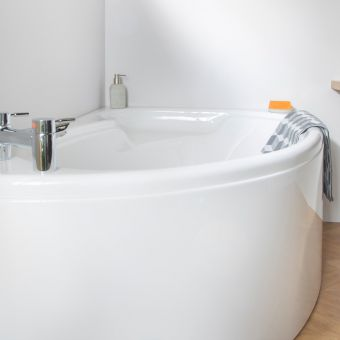 Carron Swan Offset Corner Bath