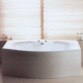 Carron Mistral Bow Fronted Double Ended Bath