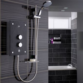 Mira Galena Slate Effect Electric Shower