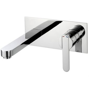 Pegler Strata Wall Mounted Basin Mixer Tap