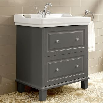Roca Carmen 2 Drawer Vanity Basin Unit