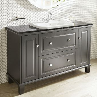 Roca Carmen 2 Drawer and 2 Door Large Vanity Basin Unit