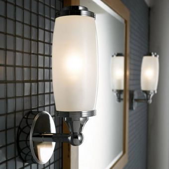 Imperial Toledo Wall Light with Glass Shade