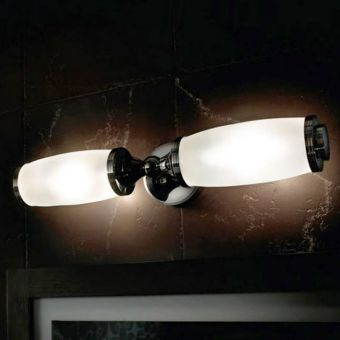 Imperial Toledo Double Wall Light & Glass Shade