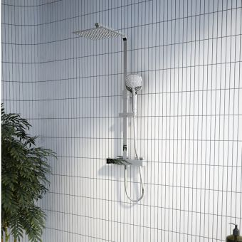 VitrA Aquaheat Bliss S 230 Thermostatic Shower Column