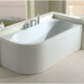 Carron Status Duo Offset Curved Corner Bath