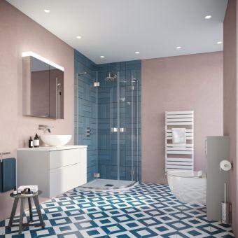 Crosswater Eclectic Colour Main Bathroom