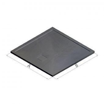 Matki Slate Shower Tray in Anthracite Grey