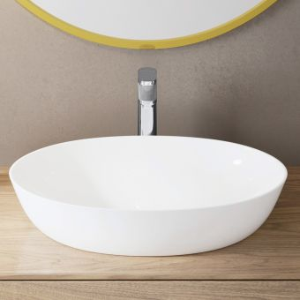 hansgrohe Vernis blend single lever mixer tap 190 with Isolated water conduction and pop-up waste set