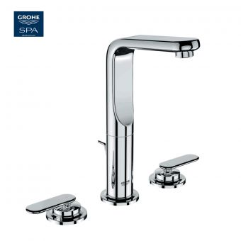 Grohe Veris 3 Hole Basin Mixer