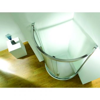 Kudos Original 810mm Curved Sliding Shower Enclosure (Side Access)