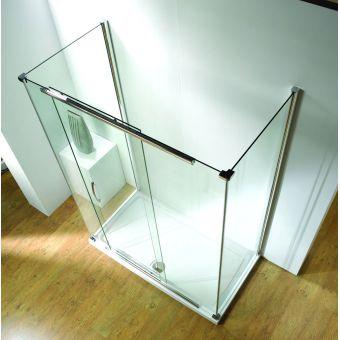 Kudos Infinite Straight Sliding Shower Door - 4SDS120S