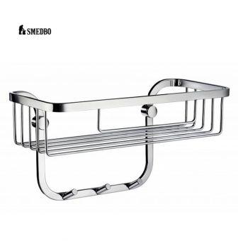Smedbo Sideline Design Basket with 3 Hooks DK2006