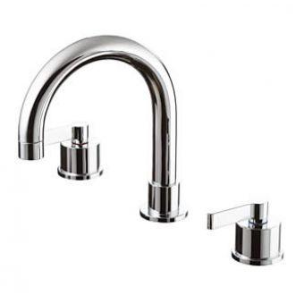 Ideal Standard Silver 3 Hole Deck Bath Filler - E0070AA