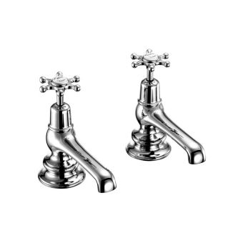 Burlington Birkenhead Regent Bath Pillar Taps