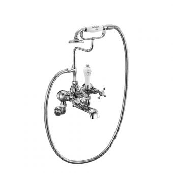 Burlington Claremont Wall Mounted Bath/Shower Mixer