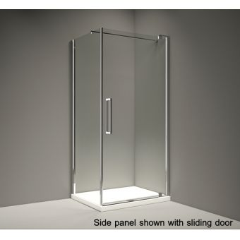 Merlyn Series 10 Pivot Shower Door Side Panel
