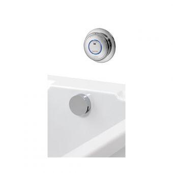 Aqualisa Quartz Digital Bath Filler with Digital Control