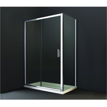 Hinged Shower Doors With Inline Panels Amp Semi Frameless