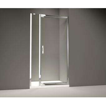 Merlyn Series 8 Infold Shower Door And Inline Panel Package
