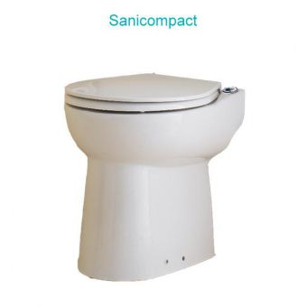 Saniflo Sanicompact Toilet and Macerator Package