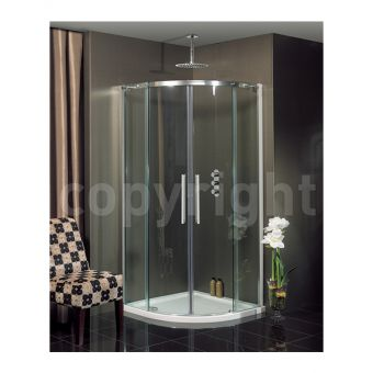 Simpsons Ten Clear Glass Quadrant Shower Enclosure