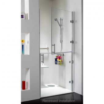 Phoenix Ambulant Split Hinged Shower Enclosure