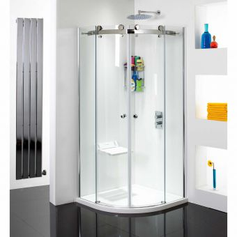 Phoenix Frameless Twin Door Quadrant Shower Enclosure