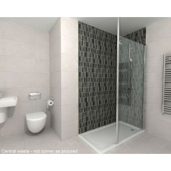 Origins Complete Walk in Shower Pack 1400 x 800mm