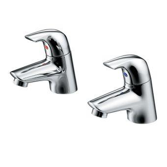Ideal Standard Ceraplan SL Bath Pillar Taps - B7885AA