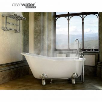 Clearwater Romano Grande Natural Stone Slipper Bath