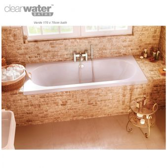 ClearGreen Verde Double Ended Bath