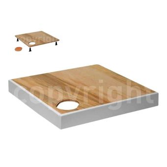 Simpsons Square Shower Tray Frame
