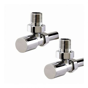Phoenix Minimalist Angled Manual Radiator Valves