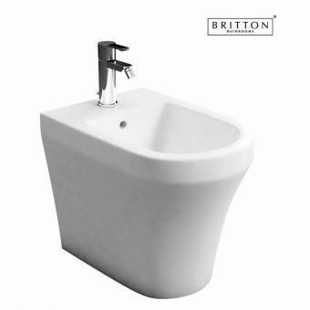 Britton Bathrooms Fine S40 Back to Wall Bidet