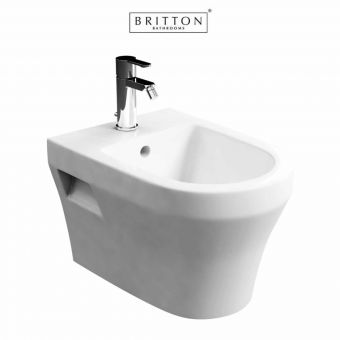 Britton Bathrooms Fine S40 Wall Hung Bidet