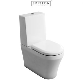 Britton Fine S40 Close Coupled WC with Standard Cistern