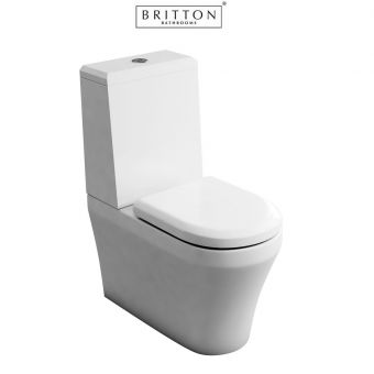 Britton Fine S40 Close Coupled WC with Angled Cistern