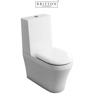 Britton Fine S40 Close Coupled Toilet with One Piece Cistern