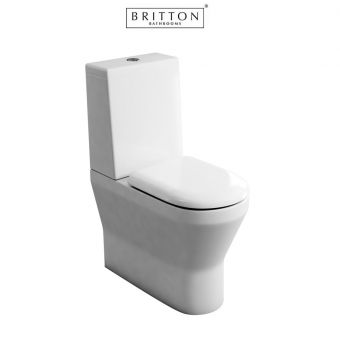 Britton Tall S48 Close Coupled Toilet