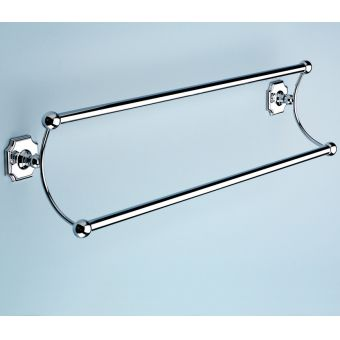 Silverdale 525mm Traditional Double Towel Rail