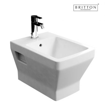 Britton Bathrooms Cube S20 Wall hung Bidet