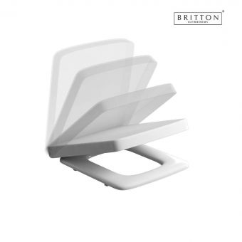 Britton Cube S20 Carbamide Soft Close Seat - SS1025