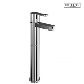 Britton Crystal Tall Basin Mixer Tap