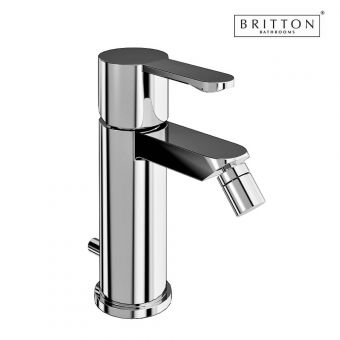 Britton Crystal Bidet Mixer Tap & Pop-up Waste