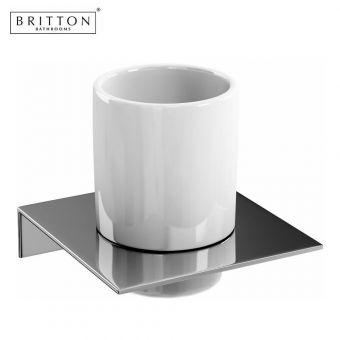 Britton Tumbler with Stainless Steel Shelf