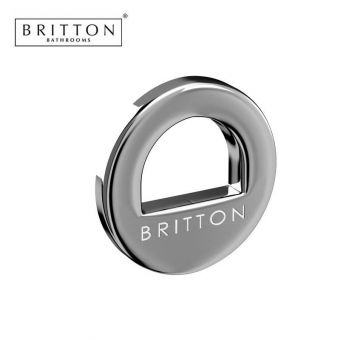 Britton Cloakroom Basin Chrome Overflow Ring