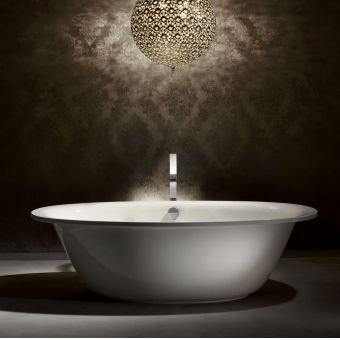 Kaldewei Ellipso Duo Oval Freestanding Steel Bath
