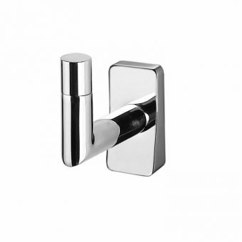 Inda Storm Chrome Robe Hook